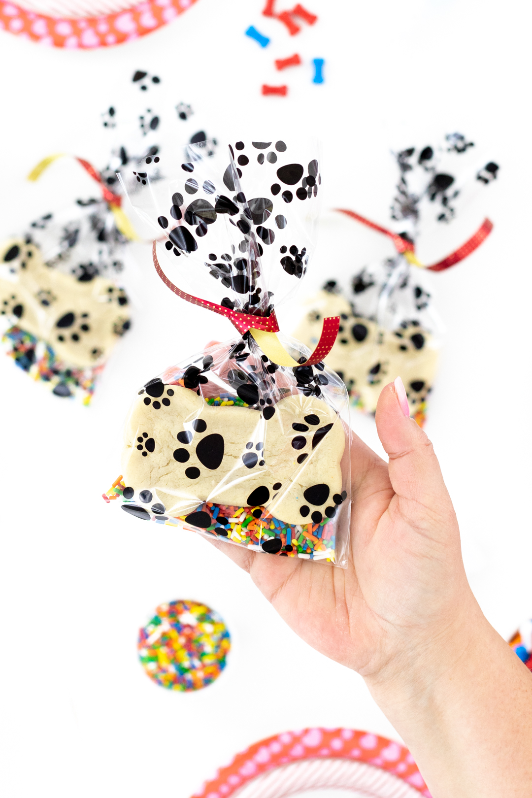 cute doggie bags for a dog themed party