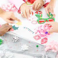 diy ugly sweater table