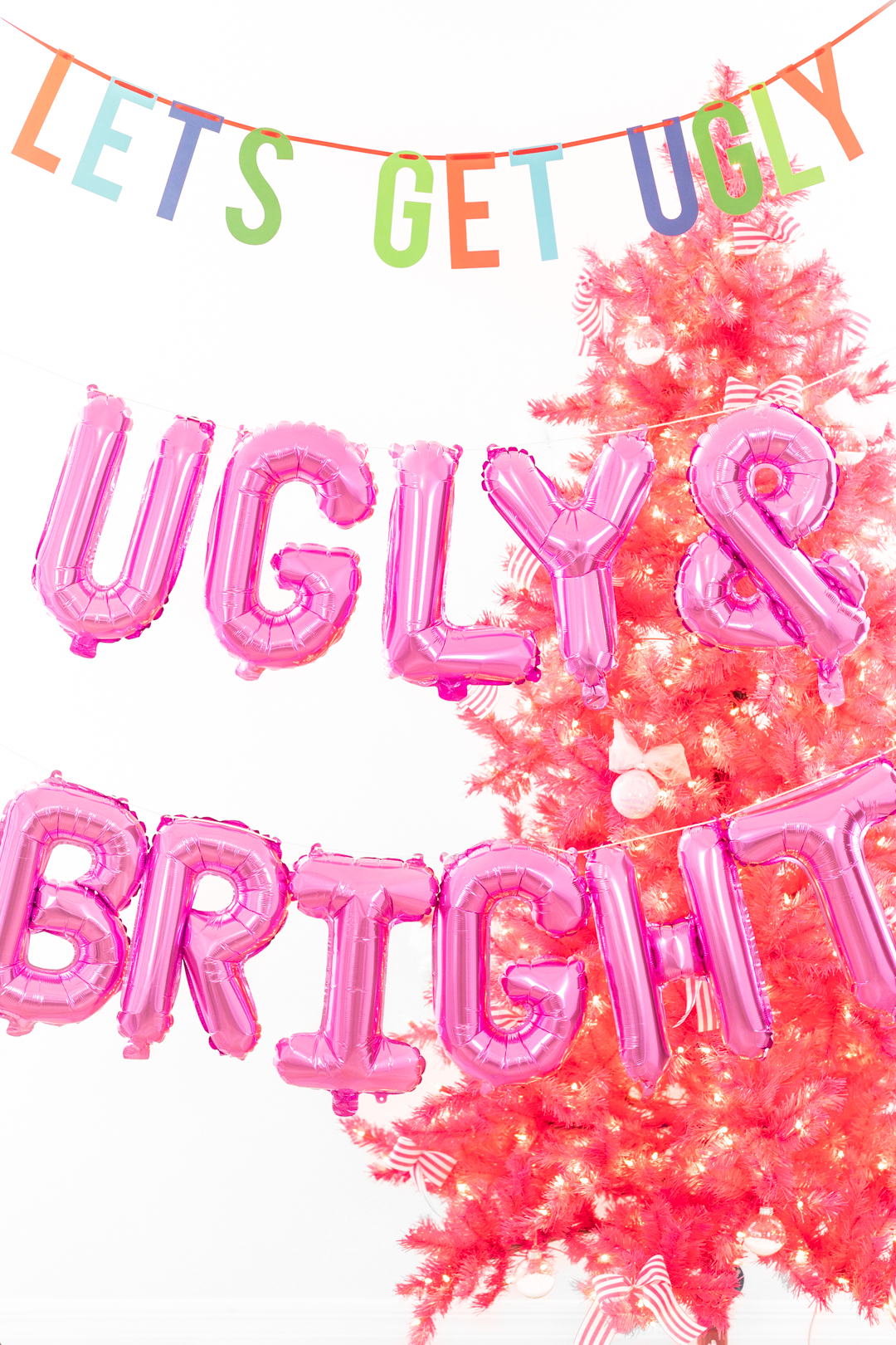 ugly and bright balloons
