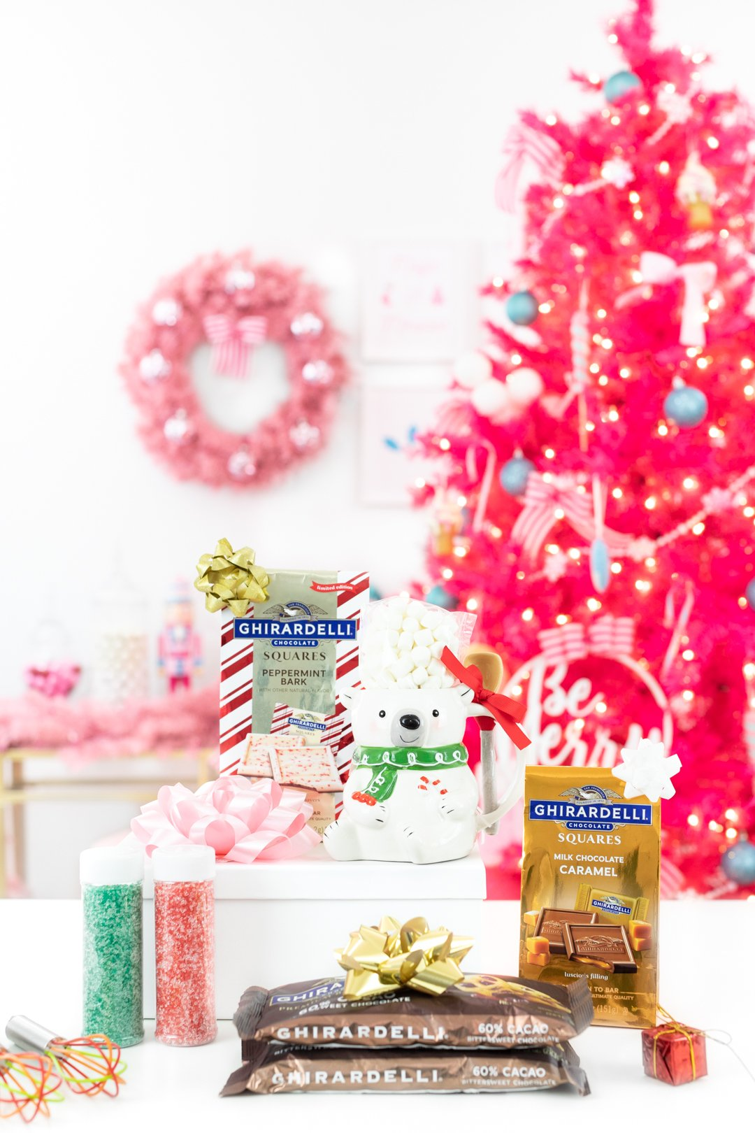 Ghirardelli products for the holidays.