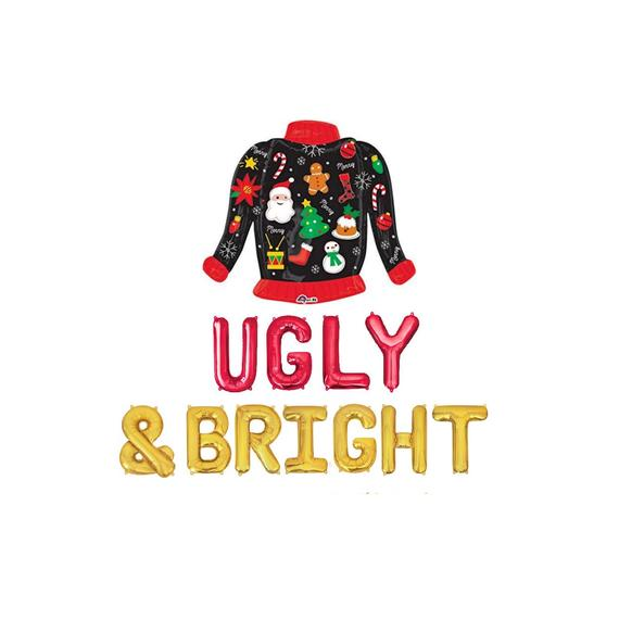 Ugly & Bright Balloon Banner