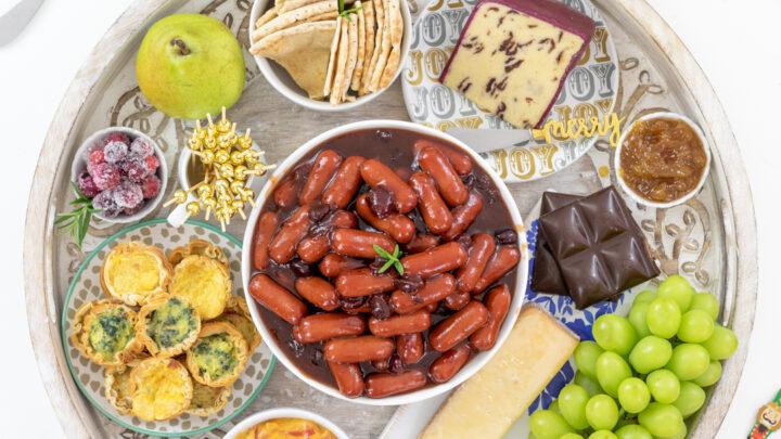 Hearty Charcuterie Snack Board