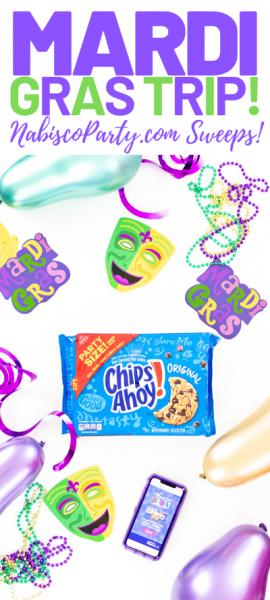 Mardi Gras Trip Sweepstakes promo