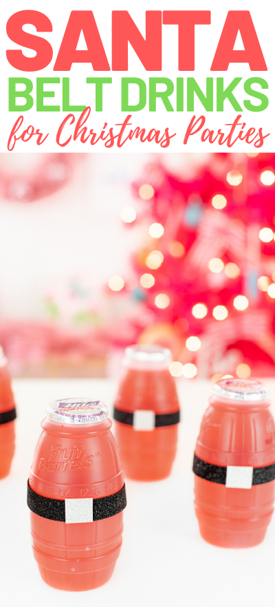santa belt drinks