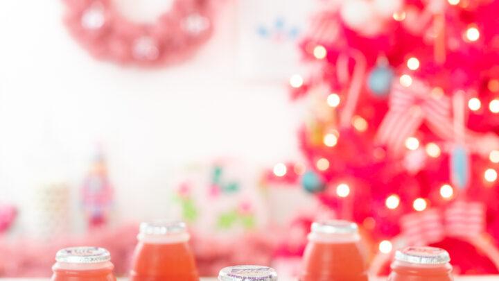 Easy Santa Belt Drinks