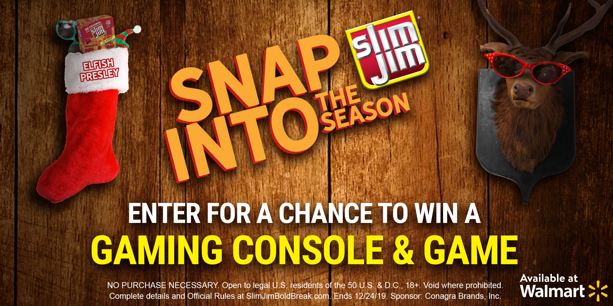 slim jim holiday sweeps promotion