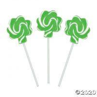 Shamrock Swirl Pops