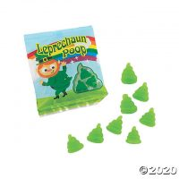 Leprechaun Poop Gummy Candy Packs