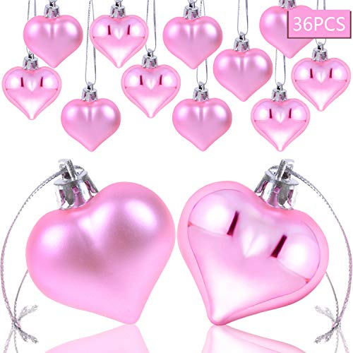 Heart Baubles Ornaments