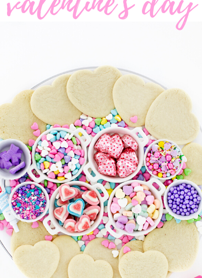 Tray Valentines Cookies