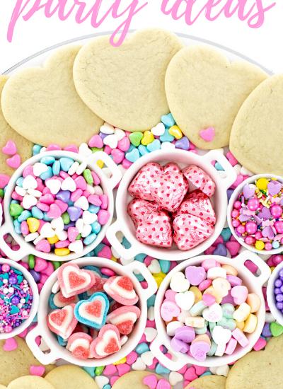 Valentines Cookies tray
