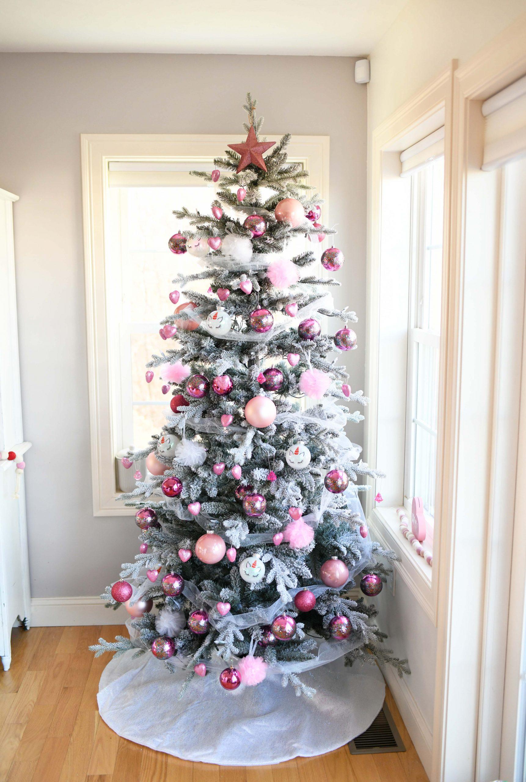 farmhouse style valentine's day tree
