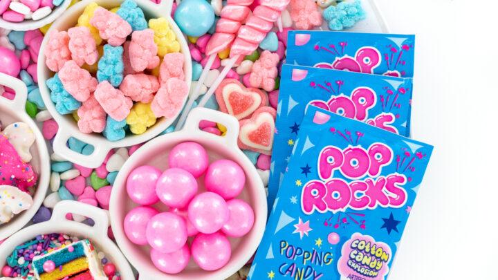 Birthday Candy Charcuterie Board