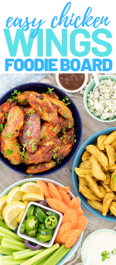easy wings and dips bar