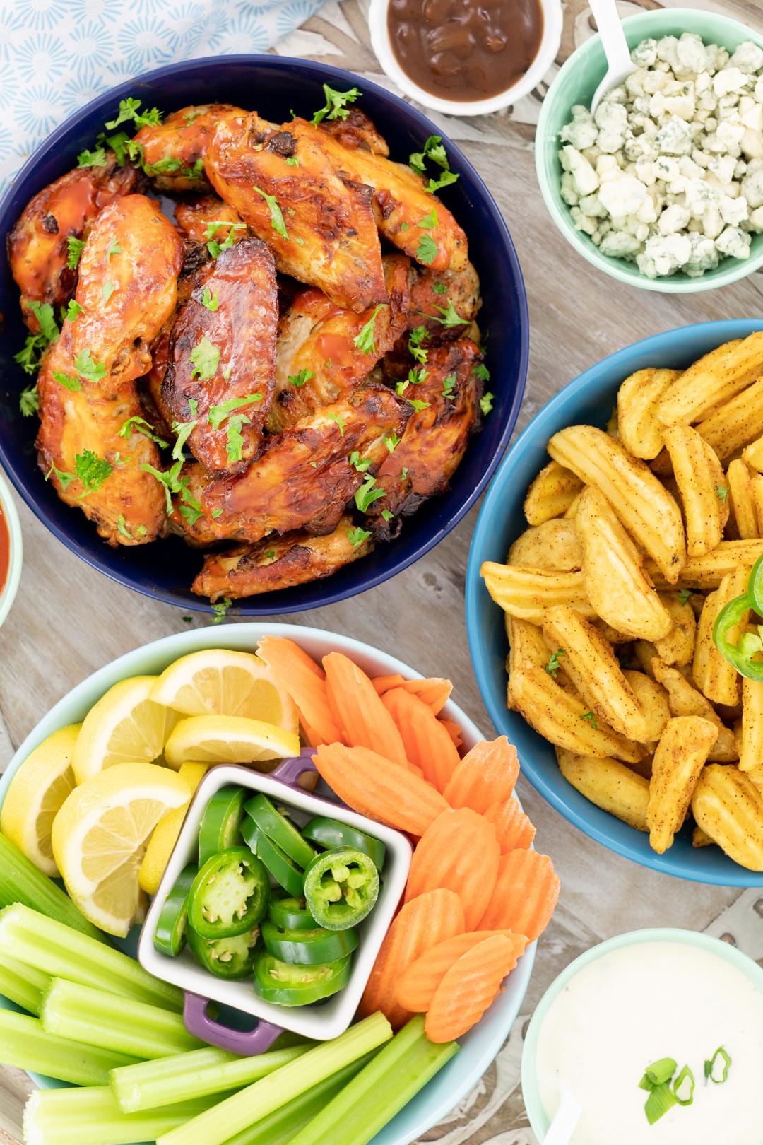 chicken wing bar