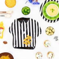 Referee plate and football supplies