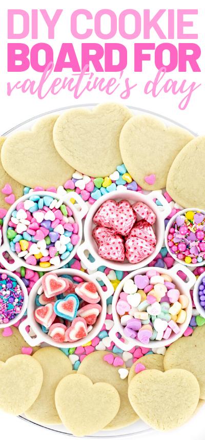 diy Valentines Cookies