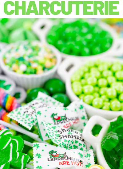 green candies