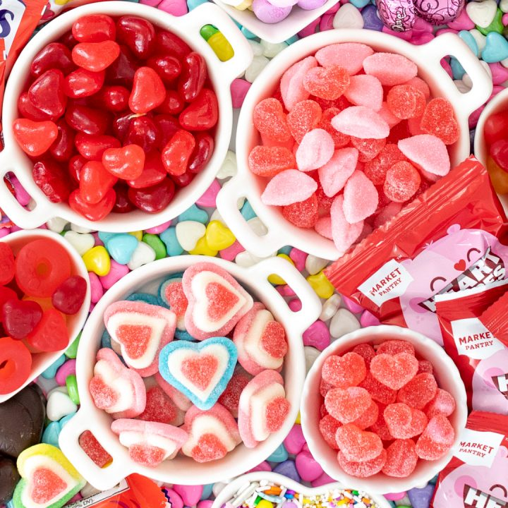 Heart Shaped Candy Board