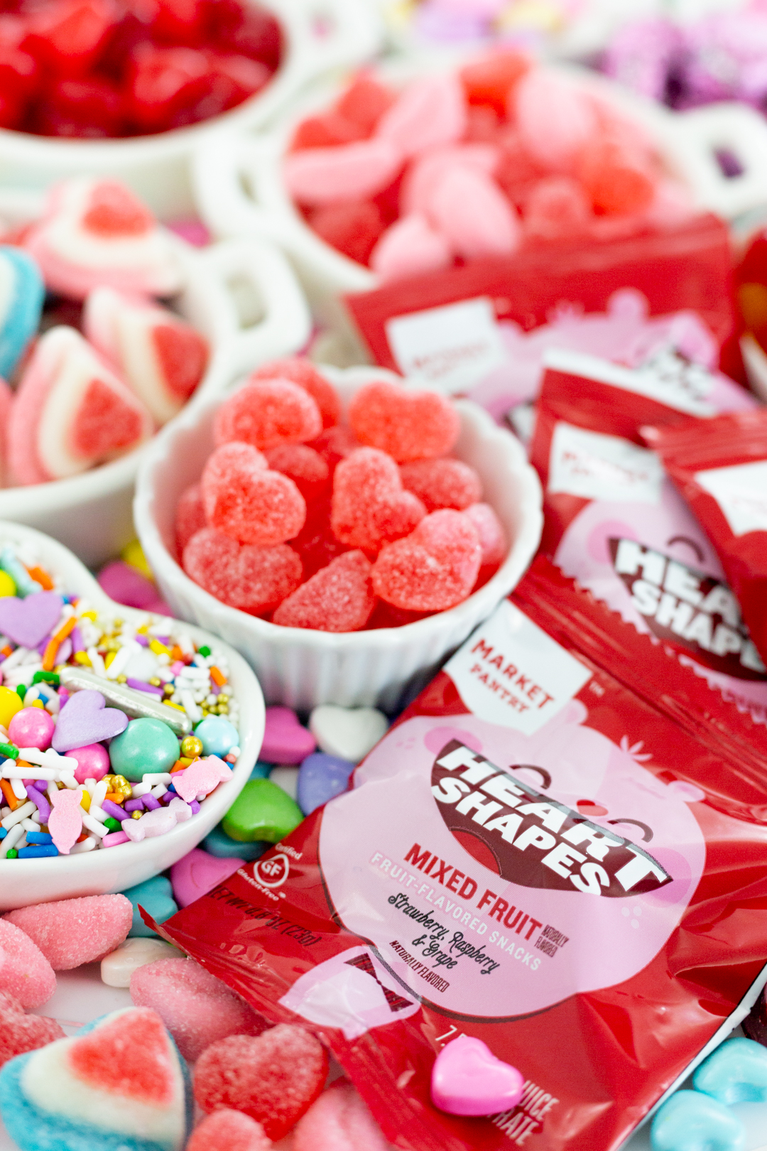 candy spread for valentine's day