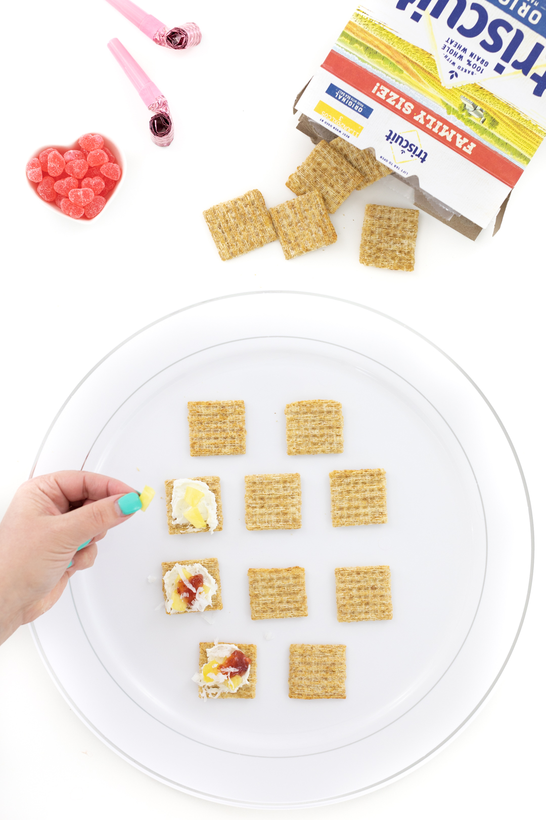 making tropical triscuits