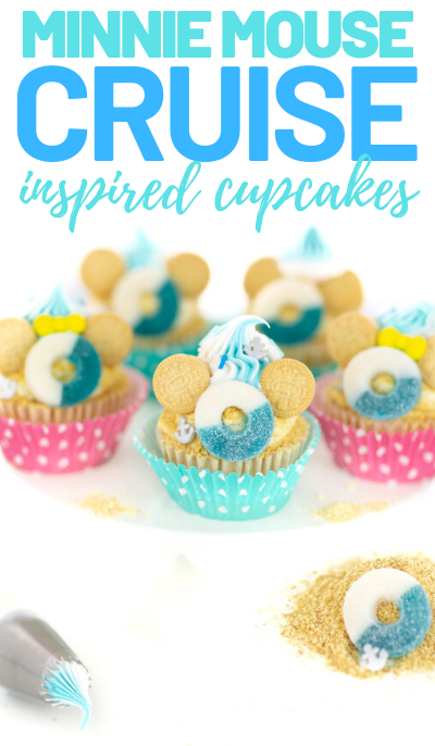 disney cruise cupcakes