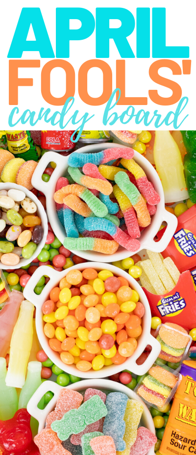tray of prank candies