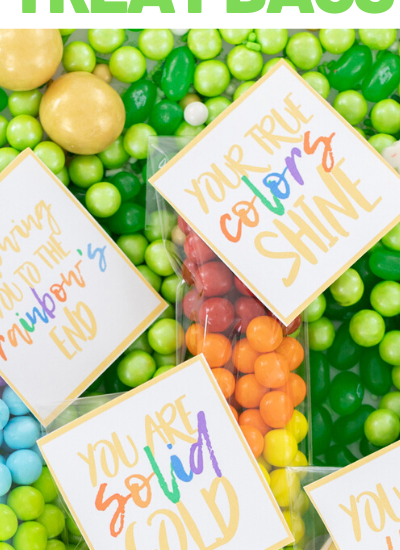 colorful st. patty's day favors