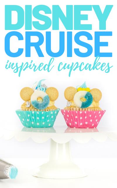 disney dream cupcakes