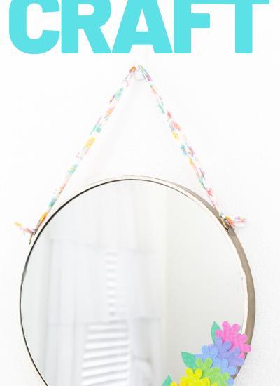 easy mirror diy