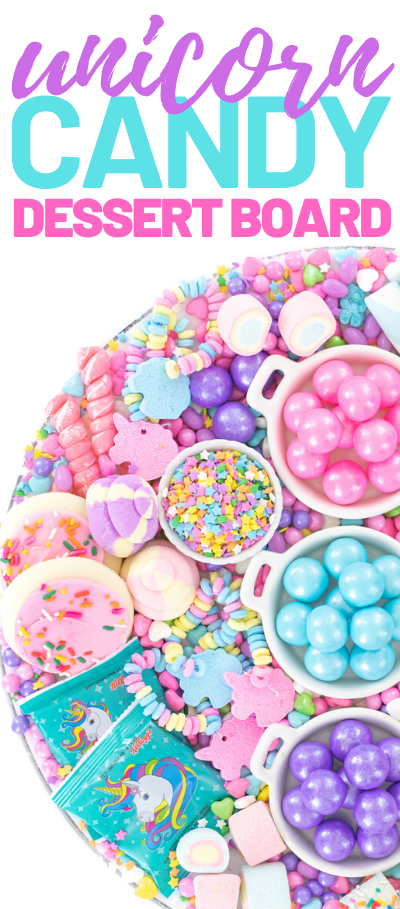 unicorn star sprinkles and candies