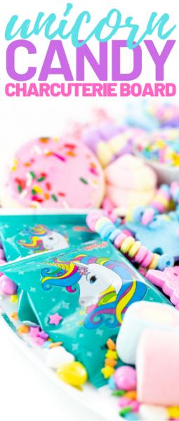 unicorn candy bracelets