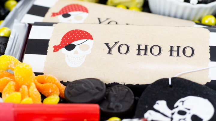 Pirate Candy Charcuterie Board