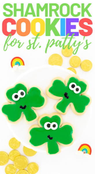 cute st pats cookies
