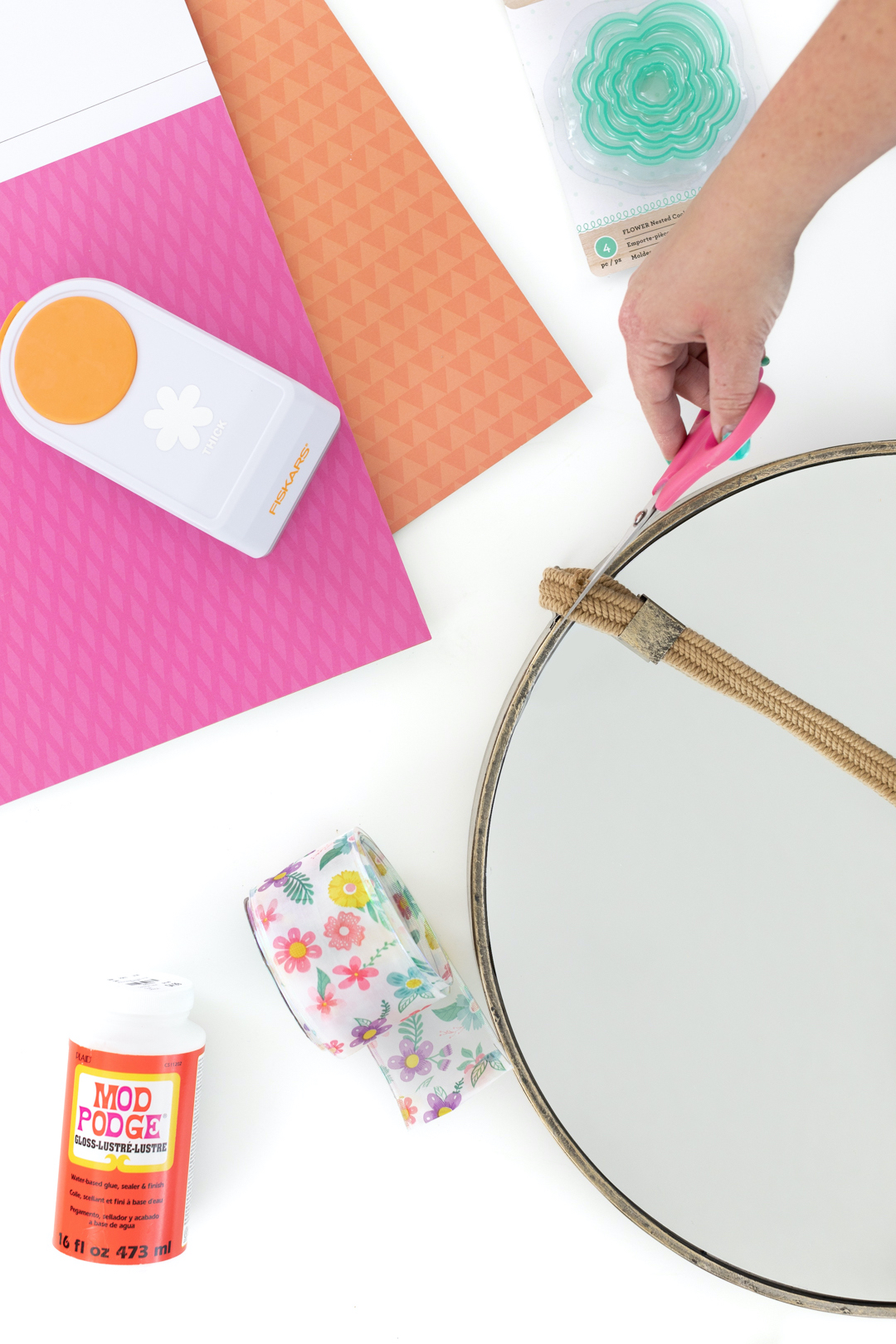 DIY Mirror Craft Supplies