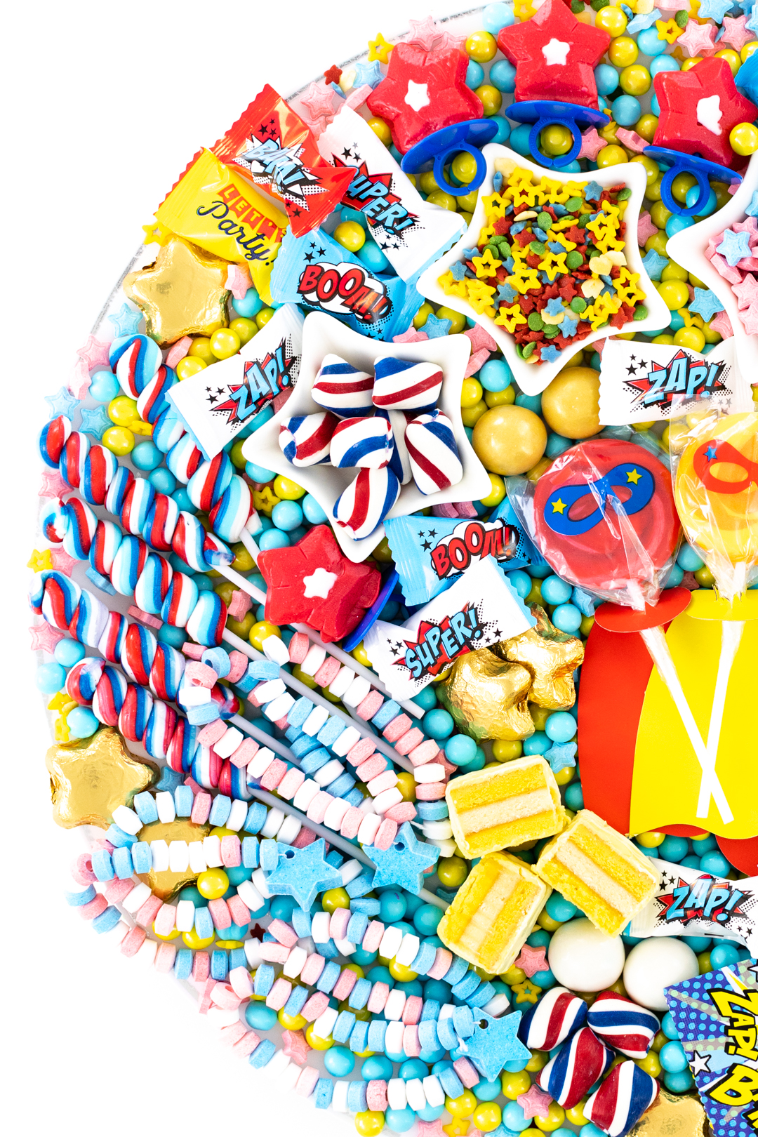 patriotic candies for superhero candy