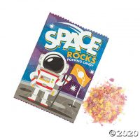 Space Rocks Popping Hard Candy Fun Packs