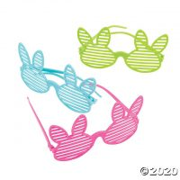 Easter Bunny Shutter Glasses