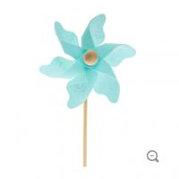Blue Butterfly Pinwheel Pick