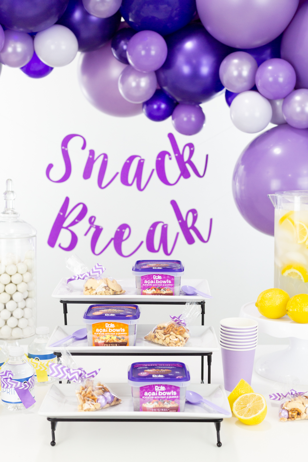 snack bar party ideas