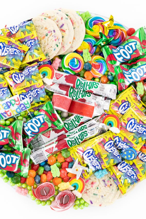 colorful candy board for kids