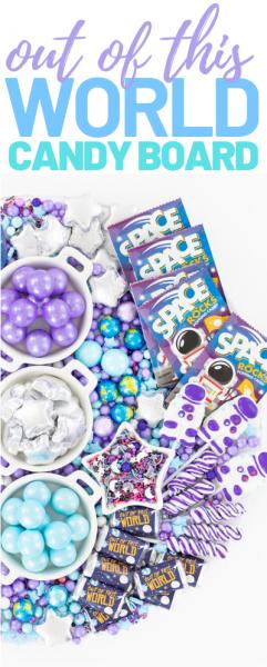 galaxy candy board