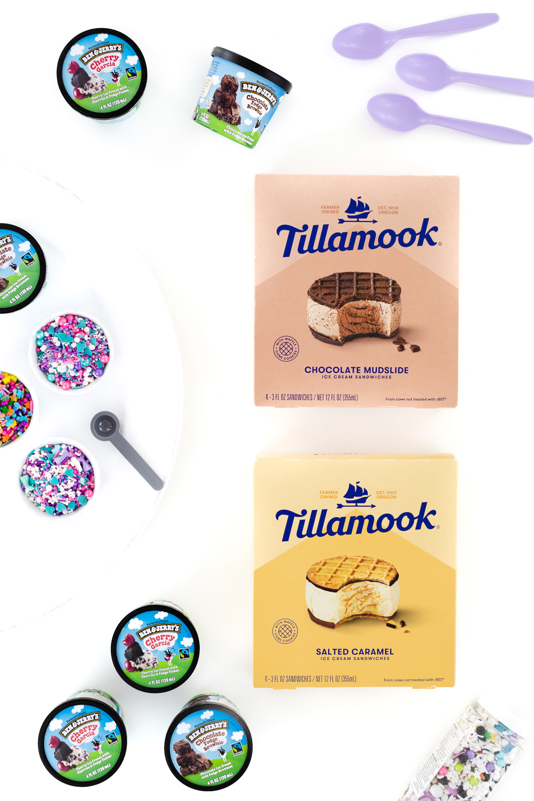 tillamook ice cream sandwiches
