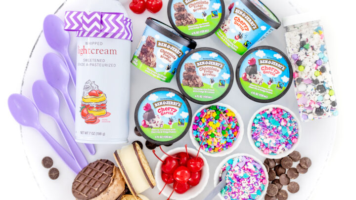 Ice Cream Treat Board