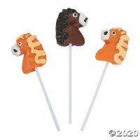 Horse-Shaped Lollipops