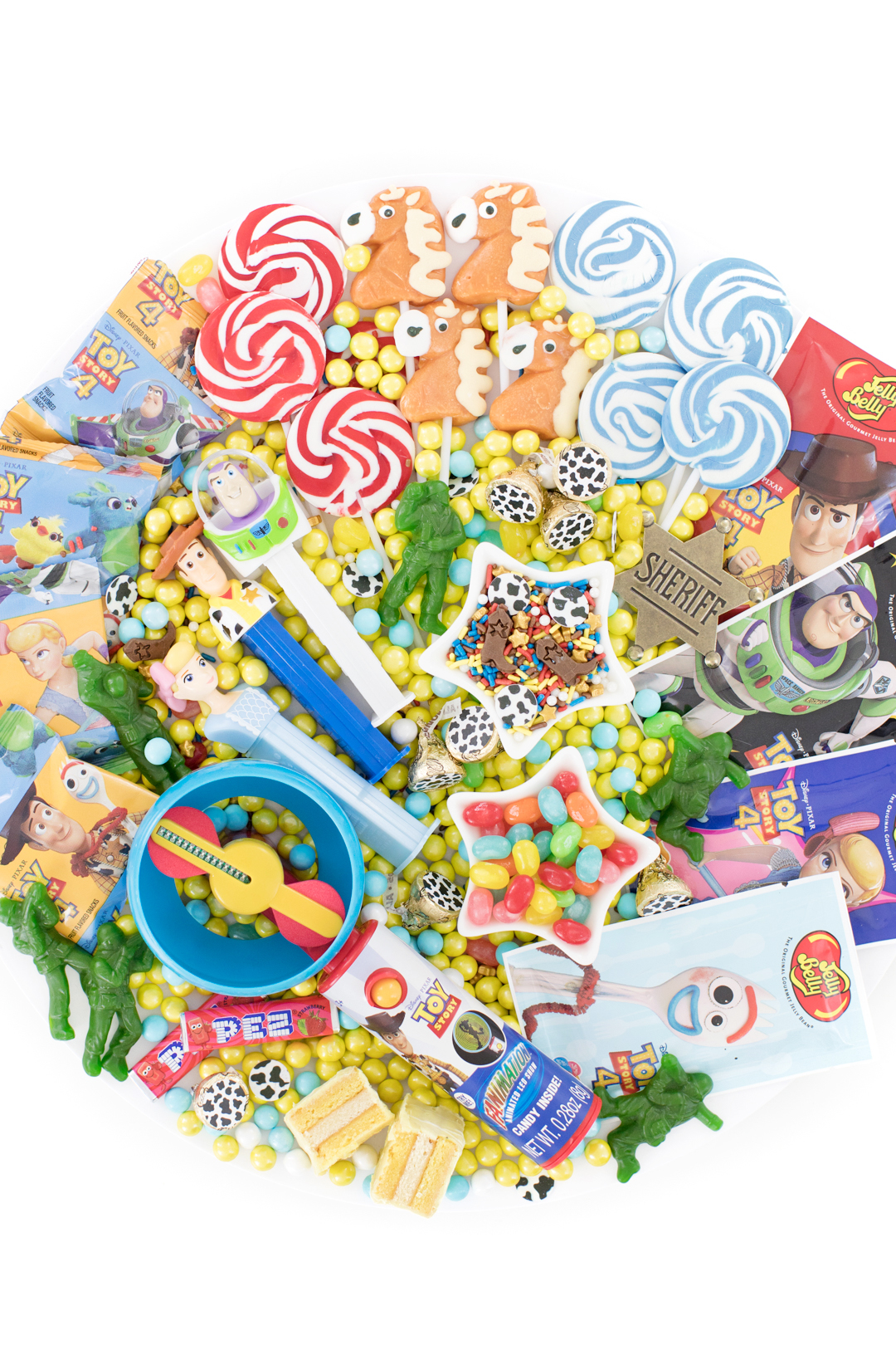 toy story candy board for parties