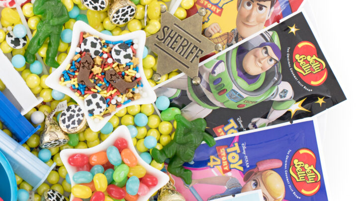 Toy Story Party Candy Board