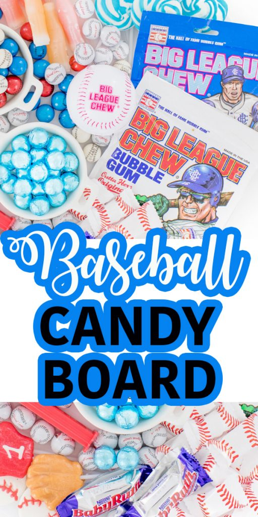 baseball party candy