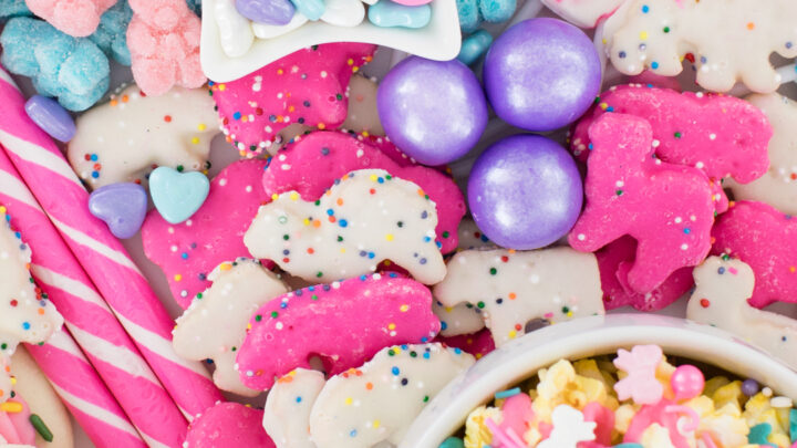 Pastel Cookie & Candy Board