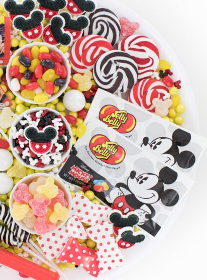 mickey mouse party platter
